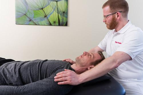 physioteherapeutische Behandlung