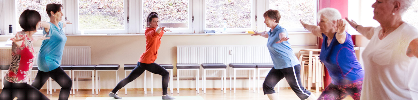 Reha-Sport in der physiobalance Berlin