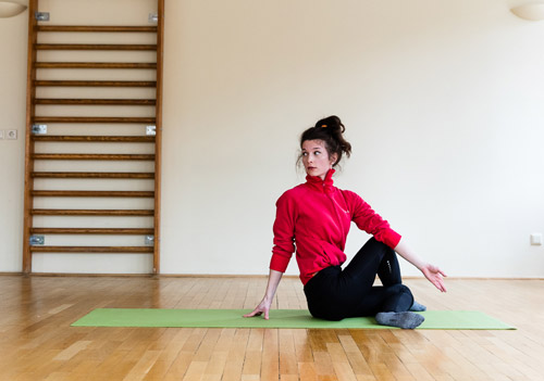 Yogaübung 3