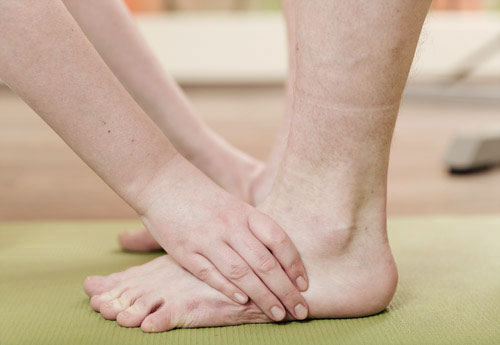 Behandlung Physiotherapie